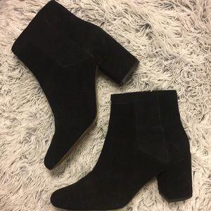 Black Zara booties size 40!